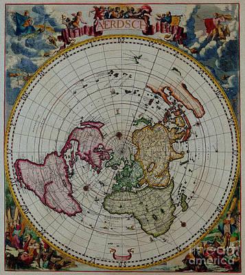 Stylish Map Digital Art - Antique Map Vintage Very Stylish Piece by R Muirhead Art
