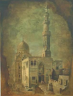 Mixed Media - Antique Minar by Jaffo Jaffer