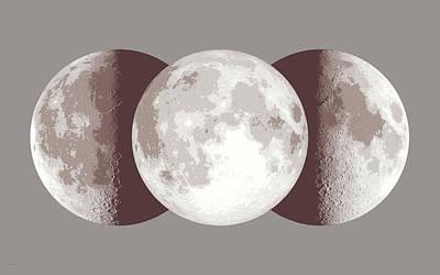 Antique Moon Art Print by Don Dixon
