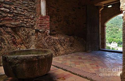Photograph - Antique Mosque Entrance In Almonaster. Spain by Angelo DeVal