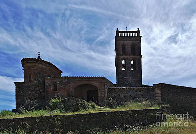 Photograph - Antique Mosque Of Almonaster La Real. Spain by Angelo DeVal
