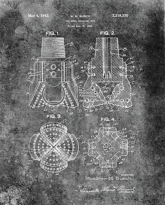 Antique Oil Drilling Bit Art Print