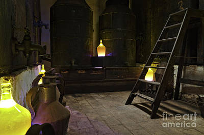 Photograph - Antique Olive Oil Factory In Algarve by Angelo DeVal