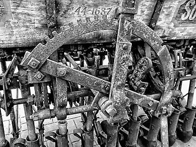 Photograph - Antique Ploughing Equipment by Dorothy Berry-Lound