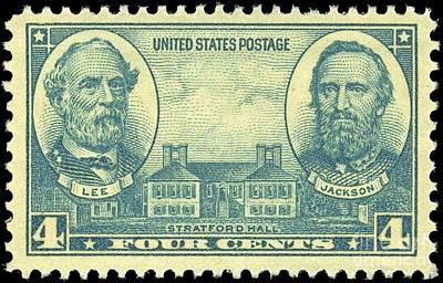 Antique Postage Stamp Original by Pd