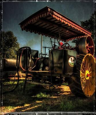 Antique Powerland Museum Tractor Print by Thom Zehrfeld