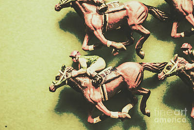 Racehorse Photograph - Antique Race by Jorgo Photography - Wall Art Gallery