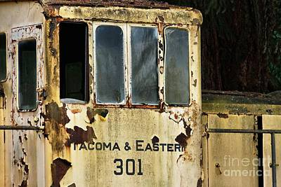 Photograph - Antique Railroad Car by Patricia Strand