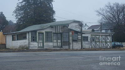 Not In Use Photograph - Antique Refueling Station   # by Rob Luzier