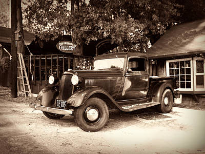Photograph - Antique Road Warrior - 1935 Dodge by Glenn McCarthy Art and Photography