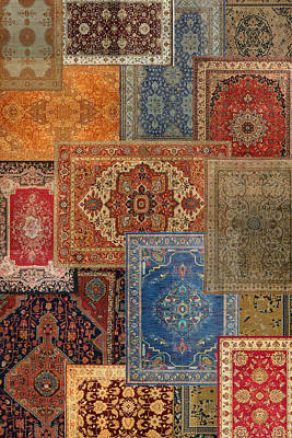 Photograph - Antique Rugs 2 by Andrew Fare