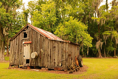 Photograph - Antique Shed by Ronald Olivier