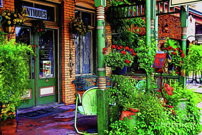 Photograph - Antique Shop 13418 by Ray Shrewsberry