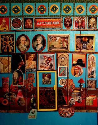 Mixed Media -  Antique Shop by Bob Craig
