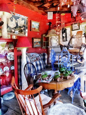 Photograph - Antique Shop by Susan Savad