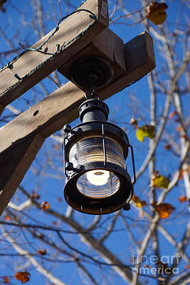 Photograph - Antique Street Light by Jennifer White