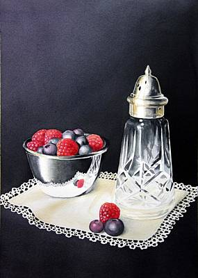 Painting - Antique Sugar Shaker by Brenda Brown