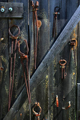 Art Print featuring the photograph Antique Tools by Joanne Coyle