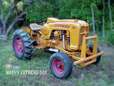 Photograph - Antique Tractor by Sandy Dusek