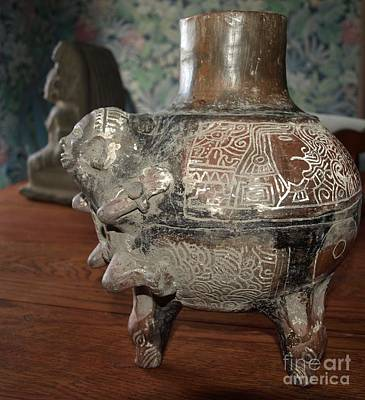 Photograph - Antique Vase by Philip Bracco