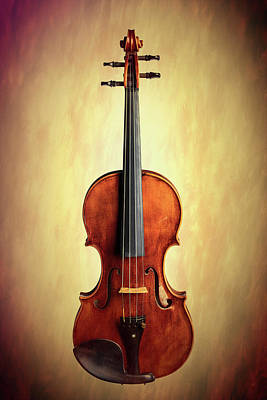 Photograph -  Antique Violin 1732.02 by M K  Miller