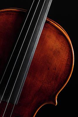 Photograph -  Antique Violin 1732.10 by M K Miller