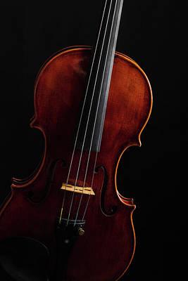 Photograph -  Antique Violin 1732.16 by M K Miller