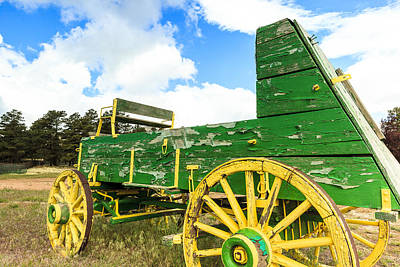 Photograph - Antique Wagon by Ben Graham