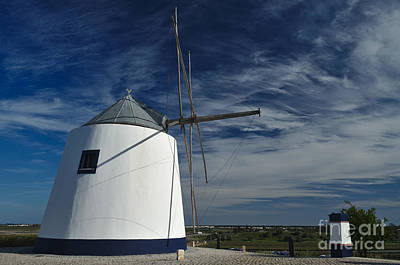 Mill Photograph - Antique Windmill On Top Of The Hill by Angelo DeVal