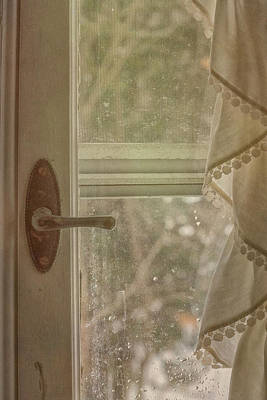 Photograph - Antique Window by Tom Singleton