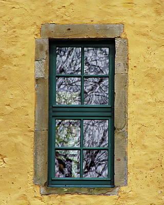 Photograph - Antique Window View by Anthony Dezenzio