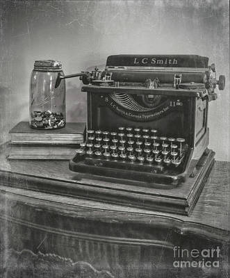 Antiqued Print by Kelley Freel-Ebner