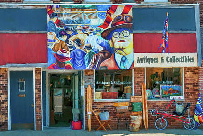Antiques And Collectibles Art Print by Trey Foerster