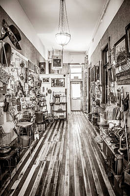 Photograph - Antiques And Old Wood Floor by Marilyn Hunt