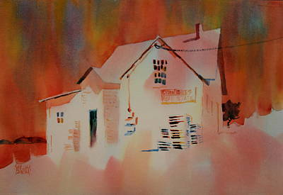 Antiques And Real Estate Art Print