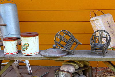 Winery Photograph - Antiques by Brian Manfra