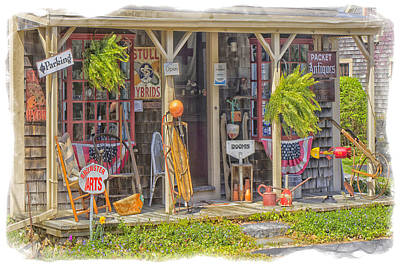 Toy Shop Photograph - Antiques by Constantine Gregory
