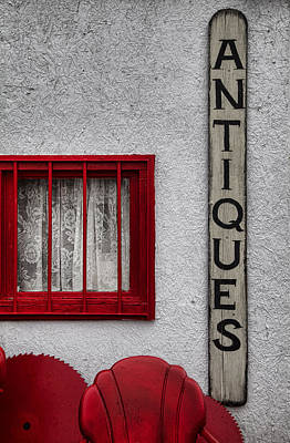 Antiques Found Here Art Print