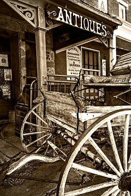 Photograph - Buckboard by Maria Coulson
