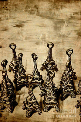 Metal Wall Photograph - Antiques Of France by Jorgo Photography - Wall Art Gallery