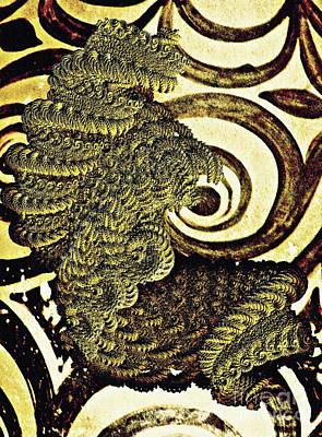 Digital Art - Antiquity In The Coils Of Time by Sarah Loft
