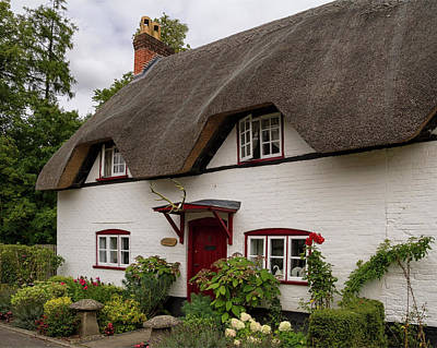 Photograph - Antler Cottage Wherwell by Shirley Mitchell