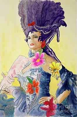 Antoinette  Art Print by Debbie Davidsohn