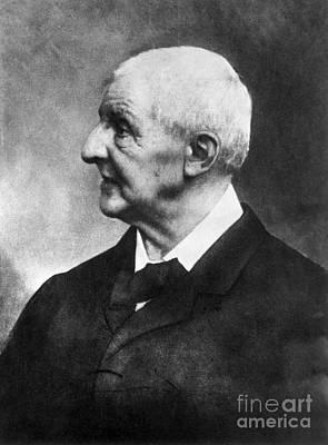 Anton Photograph - Anton Bruckner (1824-1896) by Granger