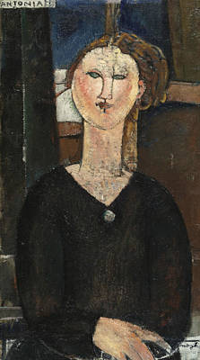Painting - Antonia by Amedeo Modigliani