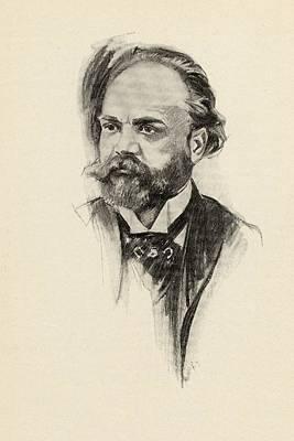Czech Drawing - Antonin Dvor K, 1841-1904. Czech by Vintage Design Pics