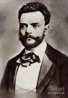 Antonin Dvorak, Composer By Sarah Kirk Art Print