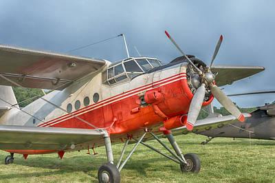 Photograph - Antonov An-2 by Guy Whiteley