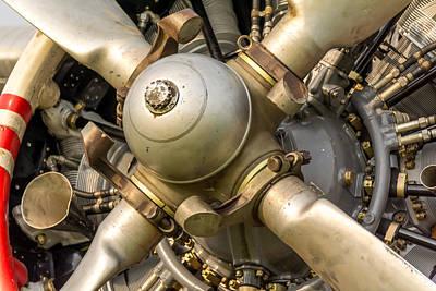 Photograph - Antonov An-2 Powerplant by Guy Whiteley