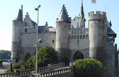 Antwerp Castle Art Print